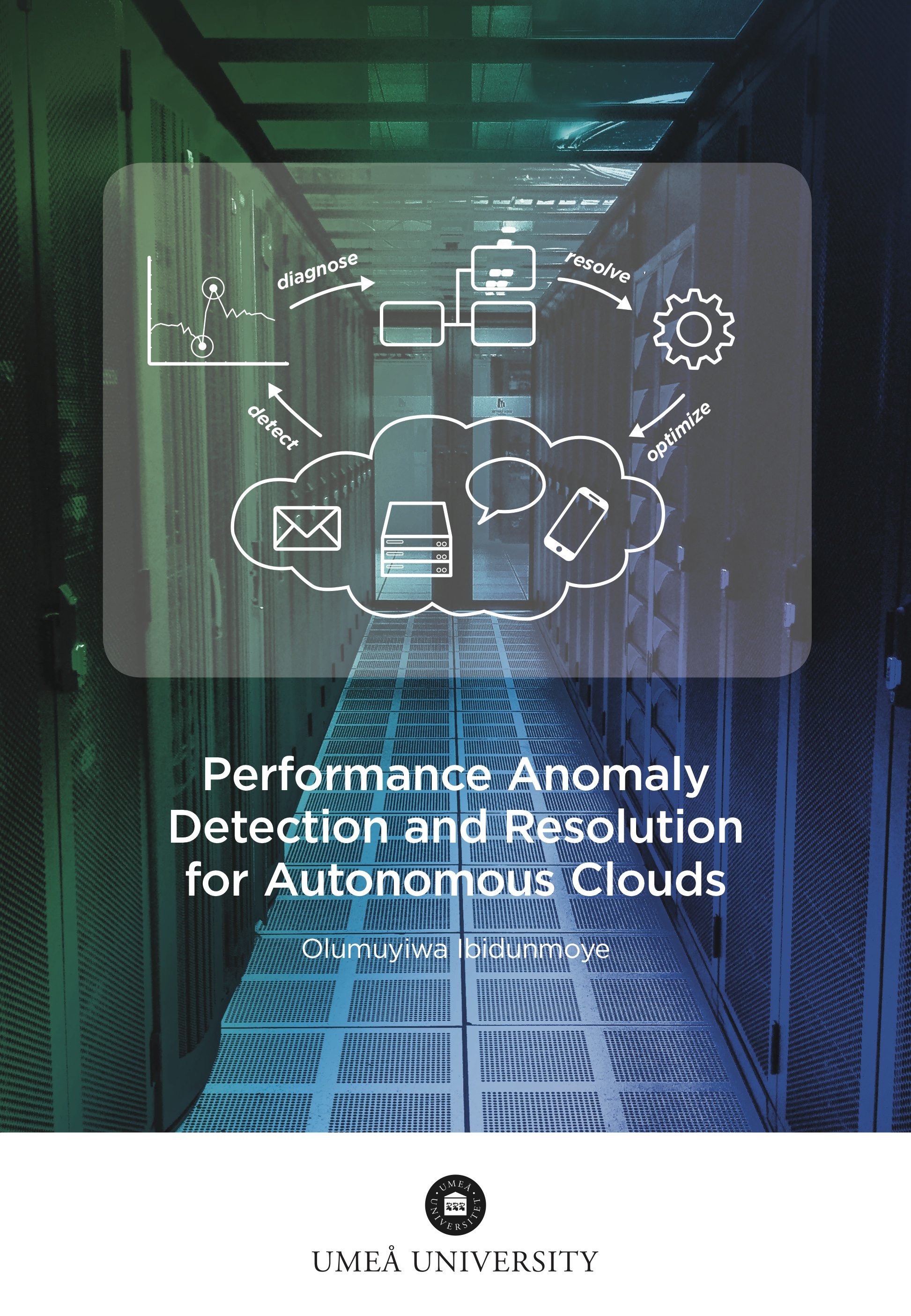 Performance anomaly detection and resolution for autonomous clouds