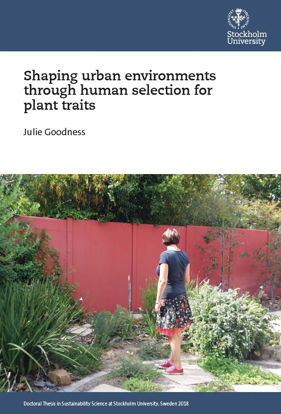 8b4fdbf77171 In this way, traits may serve as one tool within the evolving toolbox of  social-ecological system study, and thus can contribute to future urban  landscapes ...