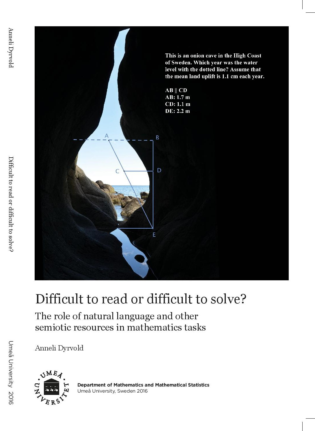 Difficult to read or difficult to solve? : The role of